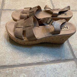 Korkease wedge sandals